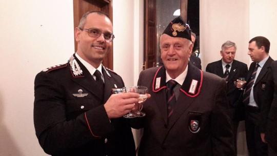 visita Colonello Ottaviani alla Sezione 16